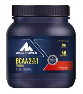 MULTIPOWER BCAA POWDER - 400G