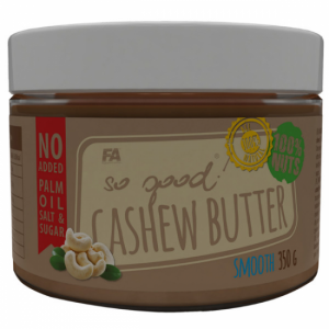 FITNESS AUTORITY CASHEW BUTTER  350G