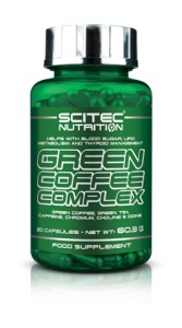 SCITEC GREEN COFFEE COMPLEX 90 kaps