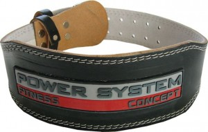 POWER SYSTEM 3100 BELT BLACK PAS SKÓRZANY