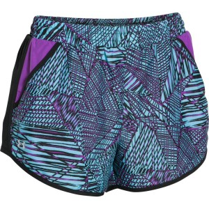 UNDER ARMOUR FLY BY PRINTED SHORT 1271544 916