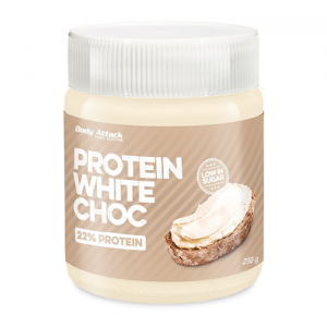 BODY ATTACK PROTEIN WHITE CHOCK 250G