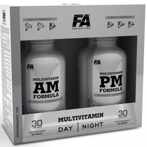 FITNESS AUTORITY MULTIVITAMIN AM+PM 60K